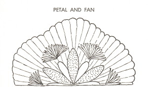 Hartung Drawing Petal and Fan